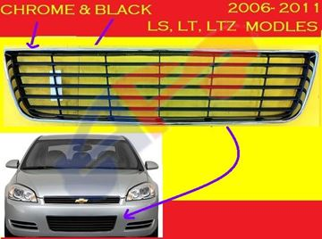 Picture of GRILLE(IN BUM) 06-13 LS(HORIZONTAL) IMPLA