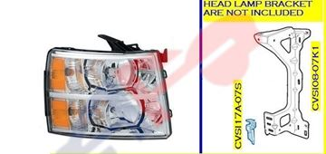 Picture of HEAD LAMP 07-13 RH SILVERADO