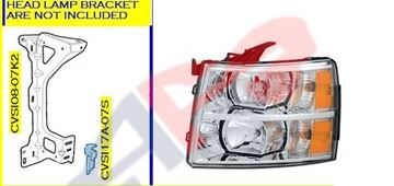 Picture of HEAD LAMP 07-13 LH SILVERADO