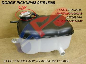 Picture of CAP, TANK 02-07 3.7L/4.7L/5.7L DG TRUCK, 05-10 CR 300/11-14 SDN CR 200/11-15 TOWN & COUNTRY/06-10 CHARGER/00-05 2.0L NEON/GRAND CHEROKEE 03-10