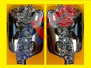 Picture of COVER MIRROR 04-08 CHR SKULL SET 9501001