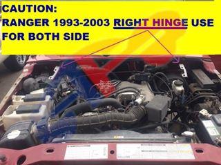 Picture of HOOD HINGE 84-11 RH RANGER/84-03 LH RANGER