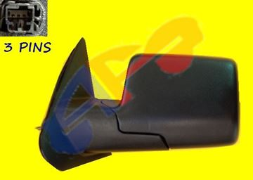 Picture of MIRROR 06-11 LH COVER/BASE:TXT PWR MAN-FOLD RANGER/06-10 MAZDA PICKUP