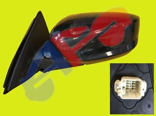 Picture of MIRROR 08-12 LH PTD PWR HT MAN-FOLD CPE ACCORD