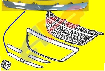 Picture of MOULDING,GRILLE 05-07 CENTER-LOW