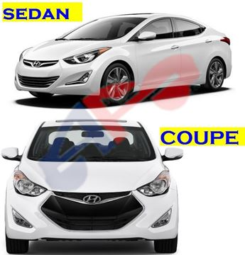 Picture of HOOD 11-16 SDN/13-14 CPE ELANTRA