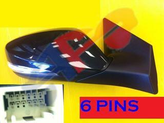 Picture of MIRROR 11-13 RH PTD PWR HT W/SIG MAN-FOLD SDN ELANTRA