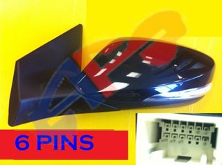 Picture of MIRROR 11-13 LH PTD PWR HT W/SIG MAN-FOLD SDN ELANTRA