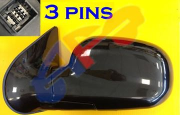 Picture of MIRROR 01-03(TO 12-2-02) LH PTD PWR GLS,LX SANTA FE