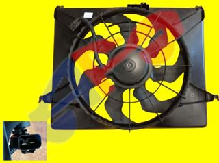 Picture of RAD FAN ASSY 06-08 2.4L  SANTA FE
