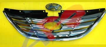 Picture of GRILLE 11-14 ALL-CHR SONATA