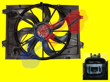 Picture of RAD FAN ASSY 05-09 2.0L TUCSON