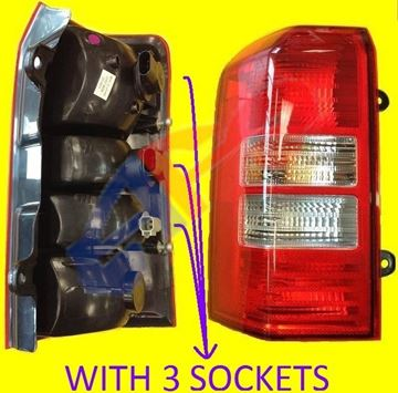 Picture of TAIL LAMP 07-14 LH 3 SOCKET PATRIOT