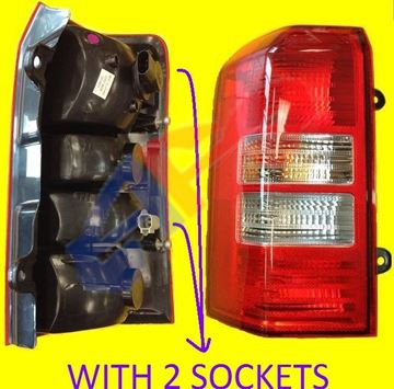 Picture of TAIL LAMP 07-15 LH 2 SOCKET PATRIOT