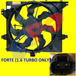 Picture of FAN ASSY 14-15 1.6L TURBO FORTE KOUP CPE/FORTE5 H/B