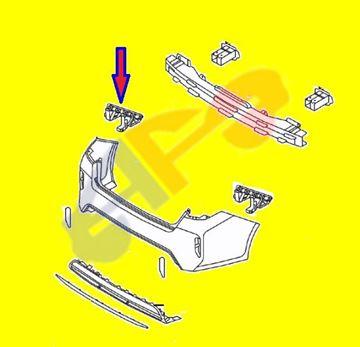 Picture of =KAOP08R-16C2 ---> BRACKET 17-19 LH RR SIDE OPTIMA HYBRID