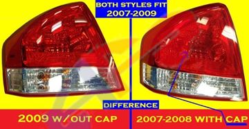 Picture of TAIL LAMP 07-08 LH SPECTRA