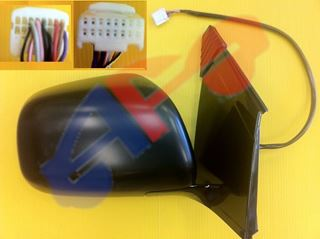 Picture of MIRROR 04-06 LH COVER:PTD/BASE:GLOSSY PWR HT W/MEM W/O DIMMER MAN-FOLD RX330/06-08 RX400H/07-09 RX350