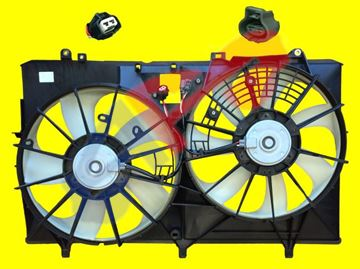 Picture of FAN ASSY 10-16 W/TOWING RX350