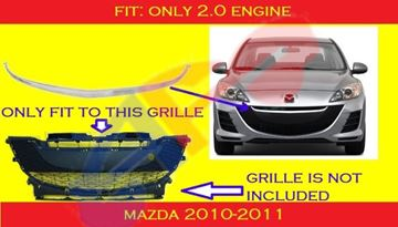 Picture of MOULDING 10-11 2.0L MZ3
