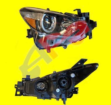 Picture of =MZ0317-17B1 ---> HEAD LAMP 17-18 RH HALOGEN MEXICO-BUILT MZ3