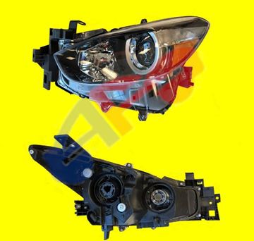 Picture of =MZ0317-17B2 ---> HEAD LAMP 17-18 LH HALOGEN MEXICO-BUILT MZ3