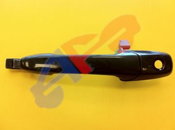 Picture of D/HANDLE 04-09 OUTER FT LH BLK W/KEYHOLE MZ3