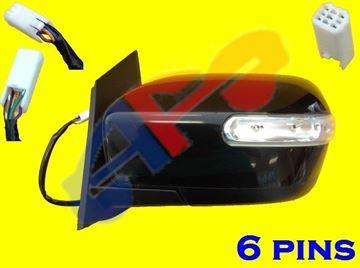 Picture of MIRROR 07-12 LH PTD PWR HT W/SIG MAN-FOLD CX-7