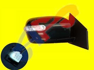 Picture of MIRROR 07-09 RH PTD PWR HT W/SIG MAN-FOLD CX-9
