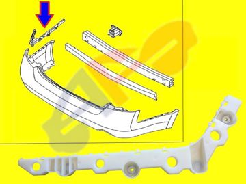 Picture of BRACKET,SIDE 13-15 RR LH PLASTIC SDN ALTIMA