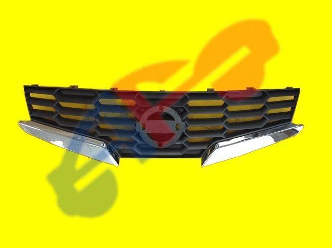 Autofit Inc Grille 08 09 Cpe Chr Blk Altima