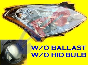 Picture of HEAD LAMP 10-12 RH HID SDN W/O HID KIT EAGLE EYES ALTIMA