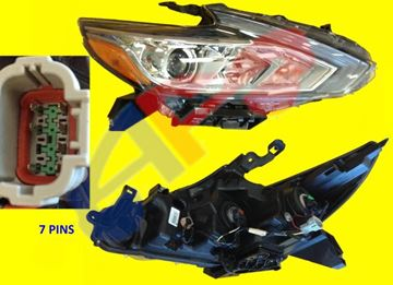 Picture of HEAD LAMP 16-18 RH CHR HALOGEN W/O LED-DRL SD ALTIMA
