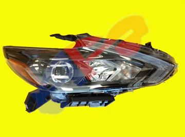 Picture of HEAD LAMP 16-18 RH BLK HALOGEN W/O LED-DRL SD ALTIMA