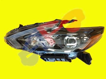 Picture of HEAD LAMP 16-18 LH BLK HALOGEN W/O LED-DRL SD ALTIMA
