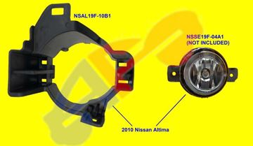 Picture of BRACKET,FOG LAMP 10-12 RH SDN ALTIMA
