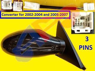 Picture of MIRROR 02-06 RH PTD PWR NON-FOLD S/SE/SL ALTIMA