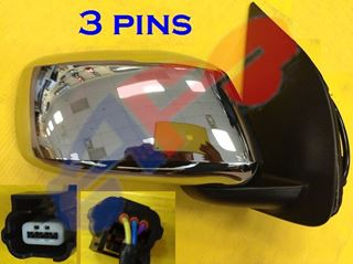Picture of MIRROR 05-10 RH CHR PWR MAN-FOLD EXTENDED CAB LE FRONTIER