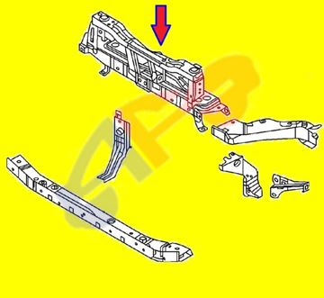 Picture of TIE BAR UPPER 13-18 CENTER NV200/CITY EXPRESS
