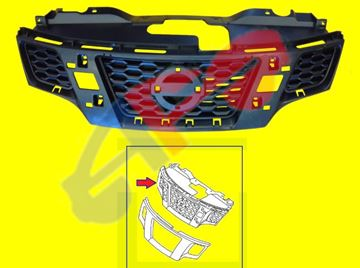 Picture of GRILLE,BASE 13-18 NV200