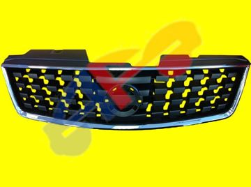 Picture of GRILLE 07-09 CHR/BLK SENTRA
