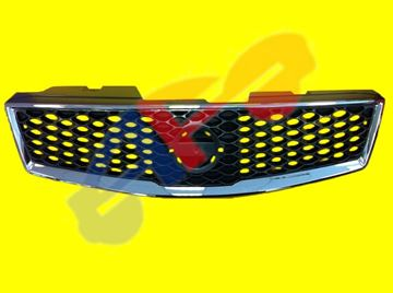Picture of GRILLE 07-12 2.5L (09-12 SR MODEL) HONEY-TYPE W/O LAMPS SENTRA