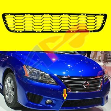 Picture of GRILLE, BUM 13-15 SPORT TYPE   SENTRA