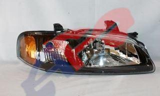 Picture of HEAD LAMP 02-03 RH BLK 2.5L SE-R SENTRA