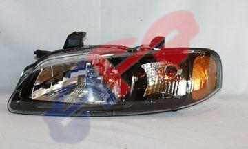 Picture of HEAD LAMP 02-03 LH BLK 2.5L SE-R SENTRA
