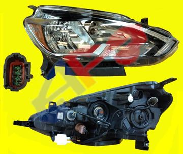 Picture of HEAD LAMP 16-19 RH HALOGEN SENTRA