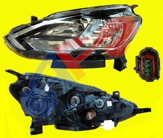 Picture of HEAD LAMP 16-19 LH HALOGEN SENTRA