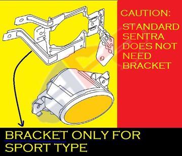 Picture of BRACKET, FOG LAMP 13-15 LH SPORT SENTRA
