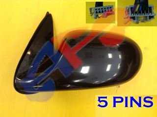 Picture of MIRROR 00-06 LH PTD PWR HT NON-FOLD SENTRA