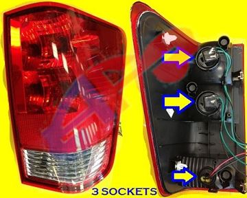 Picture of TAIL LAMP 04-10 RH (WITH 3 SOCKETS) TITAN